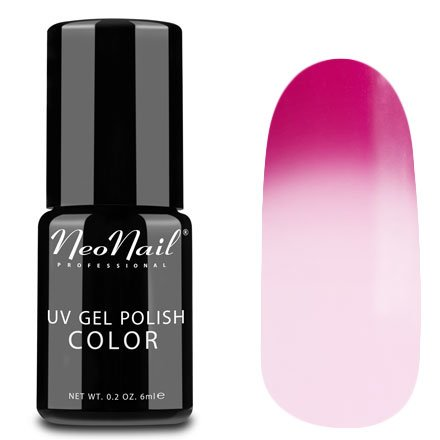 NeoNail, Термогель-лак - Twisted Pink №5192 (6 мл.)NeoNail<br>Термогель-лак, малиновый/молочно-розовый, без блесток и перламутра, плотный<br>