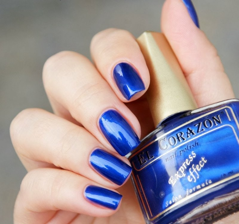 El Corazon Express Effect, № 11Лаки El Corazon<br>Лак синий с перламутром, плотный. Объем 16 ml.<br>