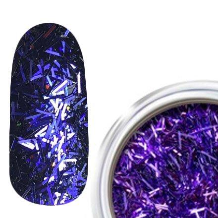 RainBird Nail, Стружка для дизайна - ФиолетовыйСтружка<br>Мелкая блестящая стружка для дизайна<br>