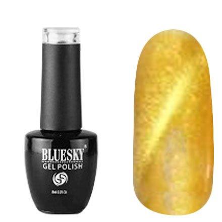 Bluesky, Gel Polish Кошачий глаз №13 (8 ml.)Bluesky 8 мл<br>Гель-лак кошачий глаз, золотой с перламутром, плотный<br>
