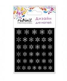 ruNail, Слайдер-дизайн - Зимняя Сказка 3164Слайдер дизайн RuNail<br>Слайдер-дизайн - Зимняя Сказка<br>