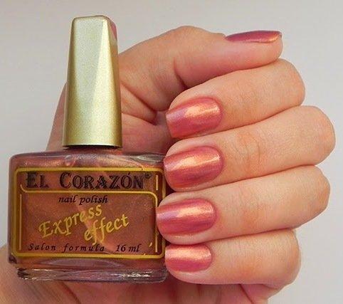 El Corazon Express Effect, № 83Лаки El Corazon<br>Лак бронзово-розовый, перламутровый, плотный. Объем 16 ml.<br>