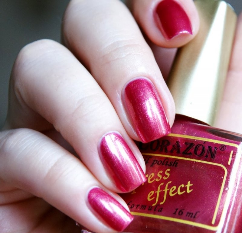 El Corazon Express Effect, № 84Лаки El Corazon<br>Лак бронзово-малиновый, перламутровый, плотный. Объем 16 ml.<br>