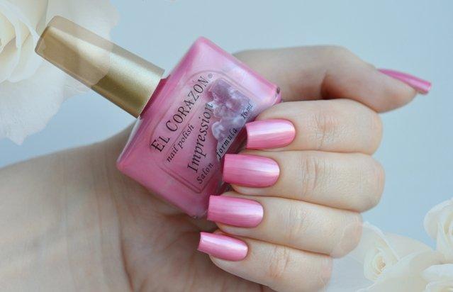 El Corazon Impression, № 262Лаки El Corazon<br>Лак розовый перламутр, плотный. Объем 16 ml.<br>