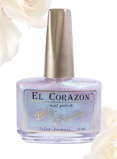 El Corazon Poly-Chrome, № 337Лаки El Corazon<br>Лаксеро-розовый с лазурным шиммером, полупрозрачный. Объем 16 ml.<br>