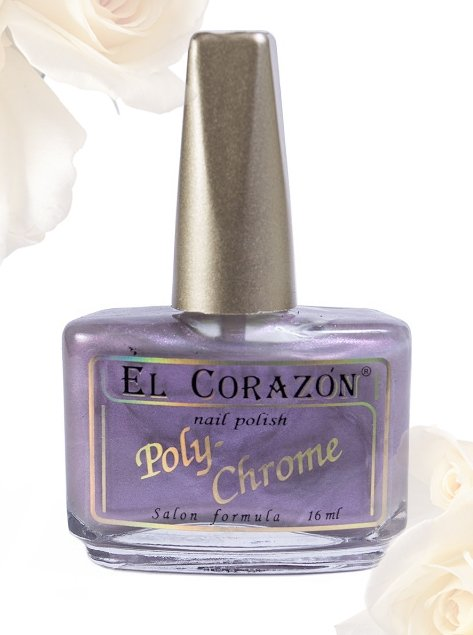 El Corazon Poly-Chrome, № 352Лаки El Corazon<br>Лак серо-сиреневыйс шиммером, полупрозрачный. Объем 16 ml.<br>