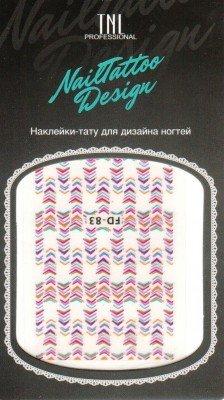 TNL, Наклейка-тату для дизайна FD-83Наклейка-тату для дизайна TNL<br>Наклейка-тату для дизайна<br>