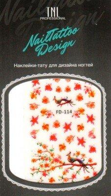TNL, Наклейка-тату для дизайна FD-114Наклейка-тату для дизайна TNL<br>Наклейка-тату для дизайна<br>