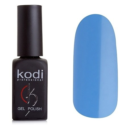Kodi, Гель-лак № 129 (8ml)Kodi Professional <br>Гель-лак темный небесно-синий, без блесток и перламутра, плотный, 8мл.<br>
