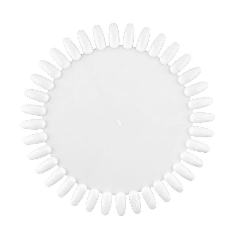 TNL, Палитра ромашка прозрачная на 36 цветовТипсы, формы, палитры<br>Палитра для лаков и дизайна, прозрачная на 36 цветов<br>