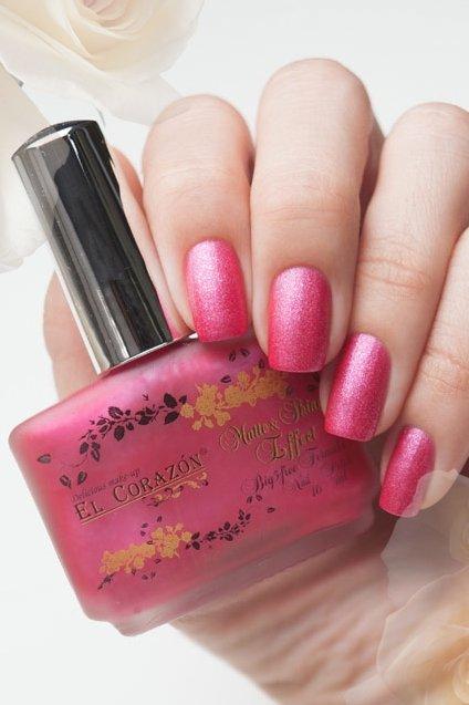 El Corazon Matte &amp; Shine Effect, №165Лаки El Corazon<br>Лак нежно-розовый, плотный, с блесками.Объем 16 ml.<br>