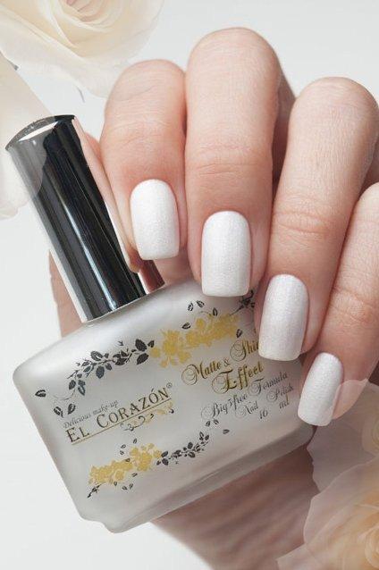 El Corazon Matte &amp; Shine Effect, №172Лаки El Corazon<br>Лак яркого белого цвета, плотный.Объем 16 ml.<br>