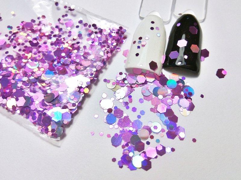 NelTes, Камифубуки - шестигранник розовыйКамифубуки для дизайна ногтей<br>Камифубуки для дизайна ногтей<br>
