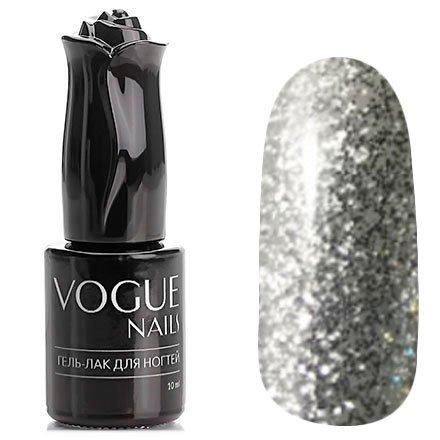 Vogue Nails, Гель-лак - Снежная метель №747 (10 мл.)Vogue Nails<br>Гель-лак, полупрозрачный с большим количеством блесток<br>