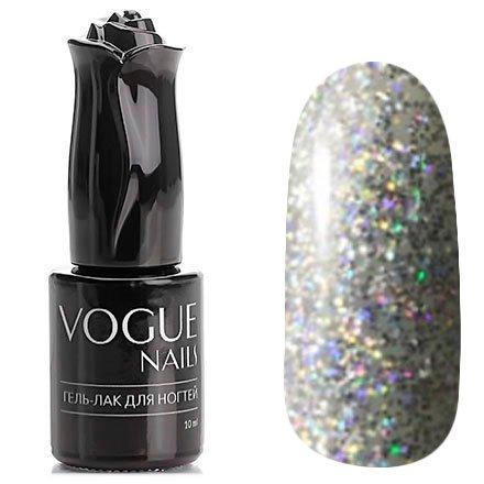 Vogue Nails, Гель-лак - Небо в алмазах №748 (10 мл.)Vogue Nails<br>Гель-лак, полупрозрачный с большим количеством голографических блесток<br>