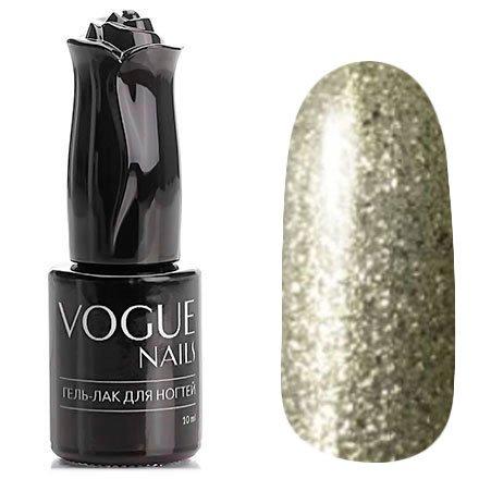Vogue Nails, Гель-лак - Чистая платина №751 (10 мл.)Vogue Nails<br>Гель-лак, полупрозрачный платиновый с большим количеством блесток<br>