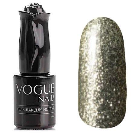 Vogue Nails, Гель-лак - Белое серебро №752 (10 мл.)Vogue Nails<br>Гель-лак, полупрозрачный белое серебро с большим количеством блесток<br>
