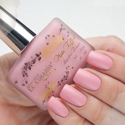 El Corazon Matte Effect, № 115Лаки El Corazon<br>Лак бежево-розовый,плотный, матовый.Объем 16 ml.<br>