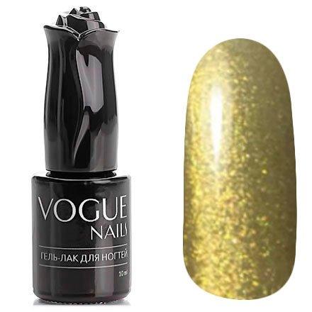 Vogue Nails, Гель-лак - Золото инков №758 (10 мл.)Vogue Nails<br>Гель-лак, полупрозрачный светлое золото с большим количеством блесток<br>