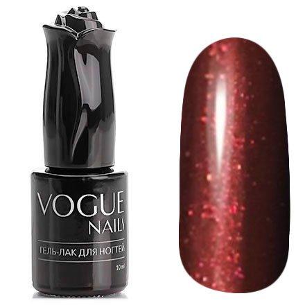 Vogue Nails, Гель-лак - Гламурное бордо №760 (10 мл.)Vogue Nails<br>Гель-лак, бордовый с микроблеском, плотный<br>