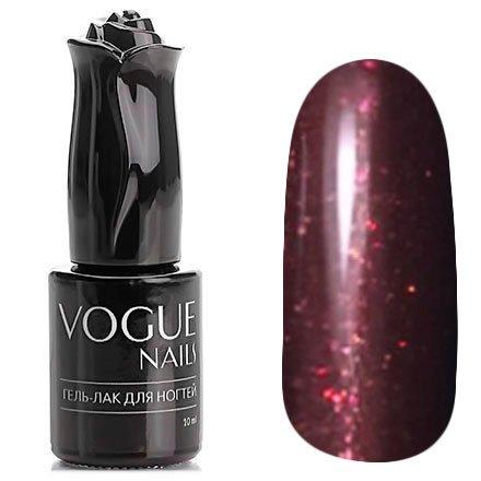 Vogue Nails, Гель-лак - Дамский каприз №761 (10 мл.)Vogue Nails<br>Гель-лак, винный с микроблеском, плотный<br>