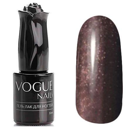 Vogue Nails, Гель-лак - Музыкальная нота №764 (10 мл.)Vogue Nails<br>Гель-лак, коричнево-бордовый с микроблеском, плотный<br>
