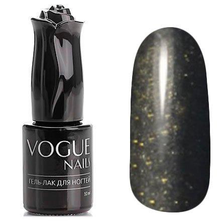 Vogue Nails, Гель-лак - Вечерняя молния №765 (10 мл.)Vogue Nails<br>Гель-лак, черный с микроблеском, плотный<br>