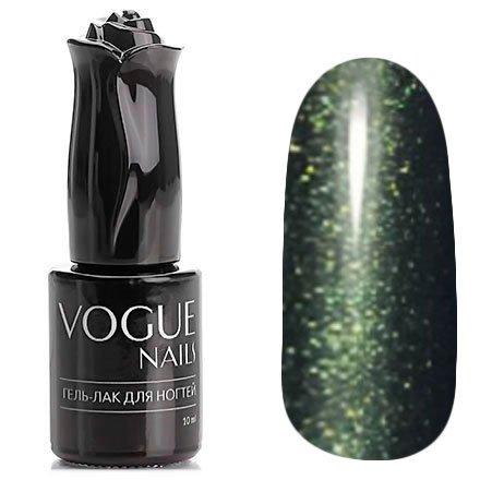 Vogue Nails, Гель-лак - Изумрудный город №766 (10 мл.)Vogue Nails<br>Гель-лак, темно-изумрудный с микроблеском, плотный<br>