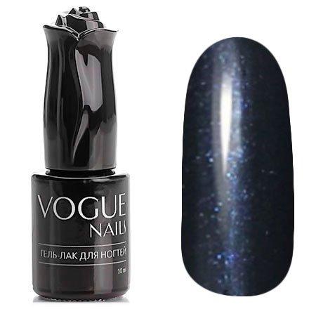 Vogue Nails, Гель-лак - Ночные огни №772 (10 мл.)Vogue Nails<br>Гель-лак, черно-синий с микроблеском, плотный<br>