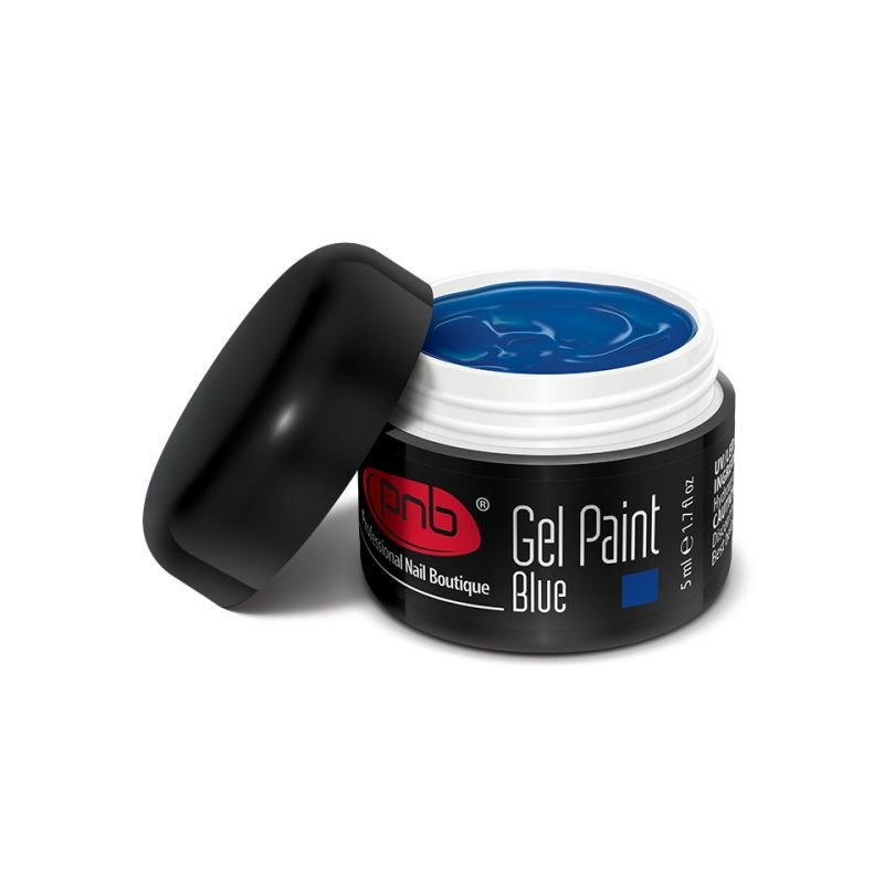 PNB, Гель-краска 10 - Gel Paint Blue (5 мл.)Гель-краски PNB<br>Гель краска для рисования синяя.<br>