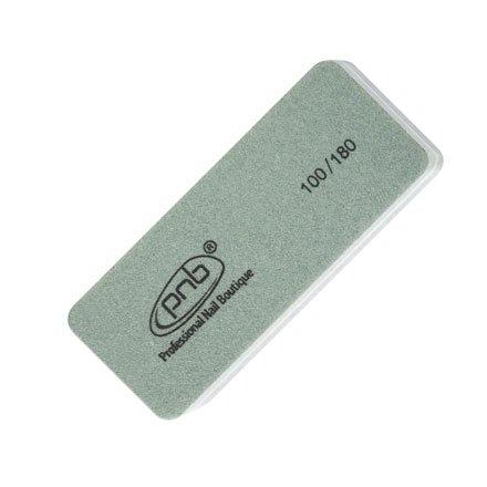 PNB, Мини-баф для ногтей PNB 100/180 Grey, прямоугольныйПолировщики и баффы<br>Для обработки ногтей при выполнении гель-лакового маникюра.<br>