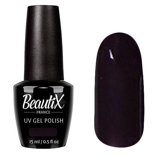 Beautix, Гель-лак №619 (15 мл.)Beautix<br>Гель-лак, темный баклажан,глянцевый, без блесток и перламутра, плотный<br>