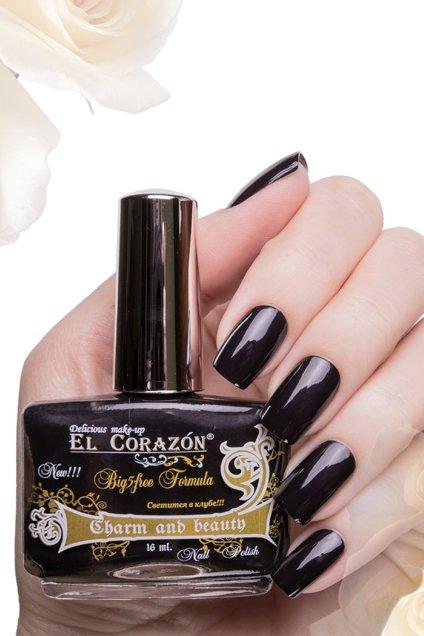 El Corazon Charm and beauty, № 878Лаки El Corazon<br>Лак темно-сливовый,плотный, без блесток и перламутра.Объем 16 ml.<br>