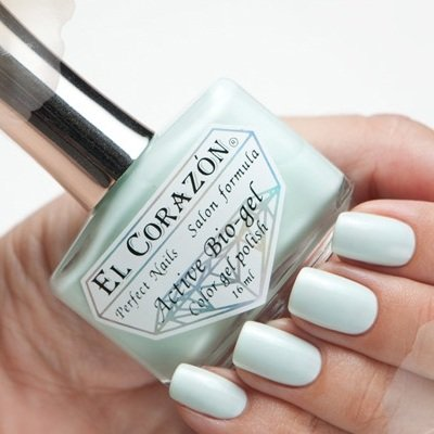 El Corazon Active Bio-gel Jelly, № 423-58Лечебный биогель El Corazon<br>Био-гель светло-мятного оттенка,без блесток и перламутра, плотный. Объем 16 ml.<br>