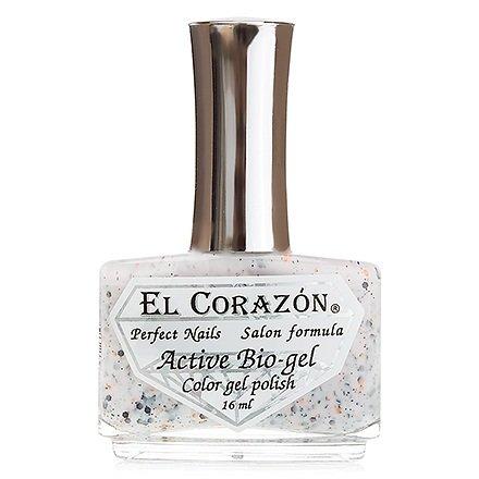 El Corazon Active Bio-gel Hocus-pocus, № 423-152Лечебный биогель El Corazon<br>Био-гельмолочно-персиковый, с разноразмерными рыжими и черными блестками, с черными звездочками, полупрозрачный. Объем: 16 ml.<br>