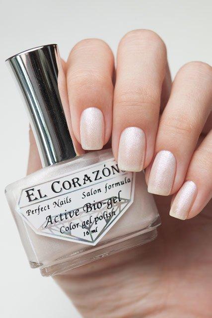 El Corazon Active Bio-gel Shimmer, № 423-16Лечебный биогель El Corazon<br>Био-гель белогооттенка, с серебрянными блестками,полупрозрачный.Объем 16 ml.<br>