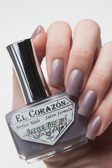 El Corazon Active Bio-gel Jelly, № 423-48Лечебный биогель El Corazon<br>Лак пастельно-сливовый,плотный, без блесток и перламутра.Объем 16 ml.<br>