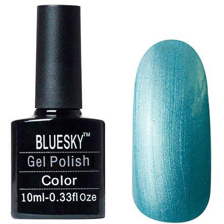 Bluesky, Шеллак цвет № 80600 Lost Labyrinth 10mlBluesky 10 мл<br>Гель-лакаквамарин с перламутром, плотный.<br>