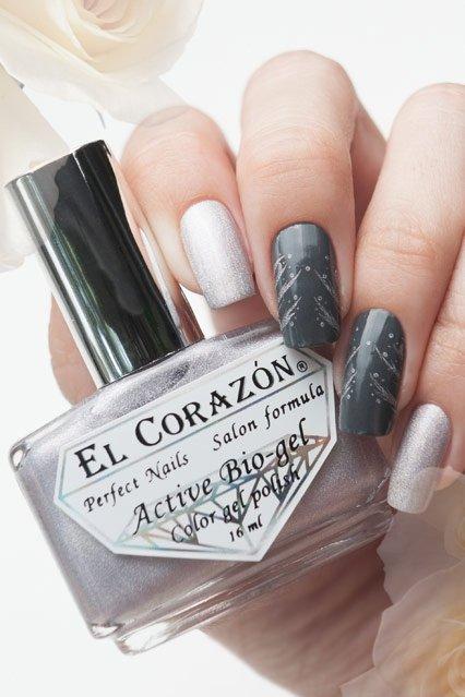 El Corazon Active Bio-gel Prisma new, № 423-22Лечебный биогель El Corazon<br>Био-гель светло-серебряный, состоит из голографических микроблесток, плотный. Объем 16 ml.<br>
