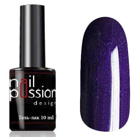 Nail Passion, Гель-лак - Версаль 5106 (10 мл.)Nail Passion<br>Гель-лак,темно-фиолетовый, с перламутром, плотный<br>