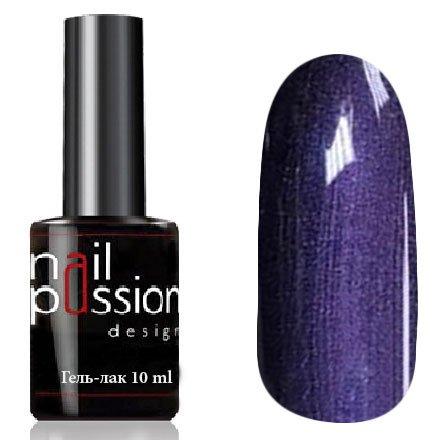 Nail Passion, Гель-лак - Потал 5111 (10 мл.)Nail Passion<br>Гель-лак,приглушенно-фиолетовый, с перламутром, плотный<br>