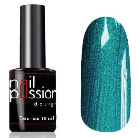 Nail Passion, Гель-лак - Вельгара 5114 (10 мл.)Nail Passion<br>Гель-лак, изумрудно-бирюзовый, с перламутром, плотный<br>