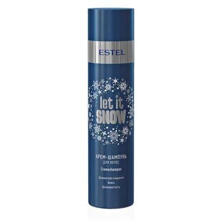 Estel, Крем-шампунь для волос Let It Snow, 250 млШампуни<br>Защитный шампунь для волос с антистатическим эффектом.<br>