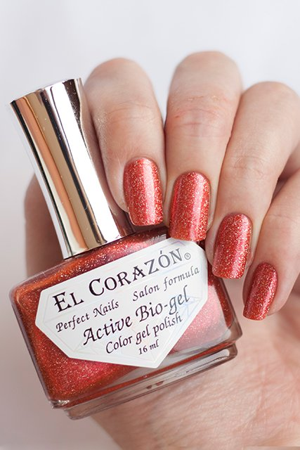 El Corazon Active Bio-gel Gemstones, Andesine № 423-458Лечебный биогель El Corazon<br>Био-гель оранжево-красного оттенка,со слюдой, плотный. Объем 16 m.<br>