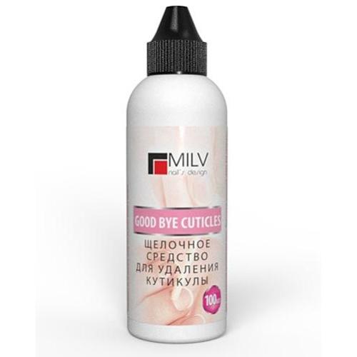 MILV, Good bye cuticles - Средство для удаления кутикул (100 мл.)Средства для удаления кутикулы<br>Профессиональное средство для размягчения и удаления кутикулы.<br>