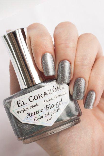El Corazon Active Bio-gel Gemstones, Rhinestone № 423/459Лечебный биогель El Corazon<br>Био-гель серебряный, со слюдой, плотный. Объем 16 m.<br>