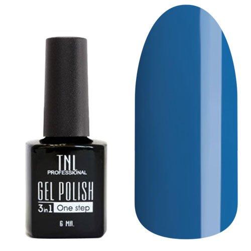 TNL, Гель-лак 3 в 1 - Персидский синий №58 (6 мл.)Однофазный TNL<br>Однофазный гель-лак,персидский синий, плотный<br>