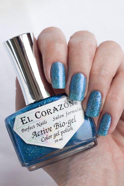 """El Corazon Active Bio-gel Gemstones, """"Aquamarine"""" № 423/465"""