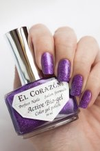 El Corazon Active Bio-gel Gemstones, Amethyst № 423-469