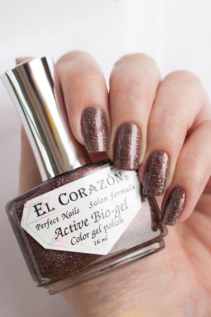 El Corazon Active Bio-gel Gemstones, Rauchtopaz № 423/470Лечебный биогель El Corazon<br>Био-гельтемно коричневого оттенка, со слюдой, плотный. Объем 16 m.<br>